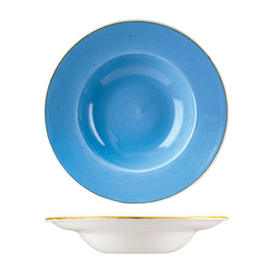 9975428-B Stonecast Cornflower Soup / Pasta Bowl Globe Importers Adelaide Hospitality Supplies