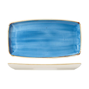9975535-B Stonecast Cornflower Oblong Plate Globe Importers Adelaide Hospitality Supplies
