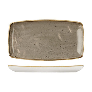 PEPPERCORN GREY OBLONG PLATE