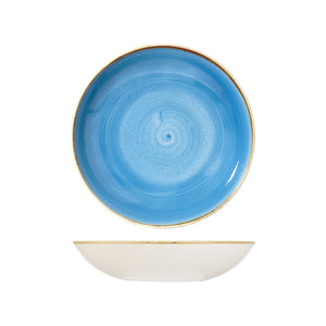 CORNFLOWER ROUND COUPE BOWL