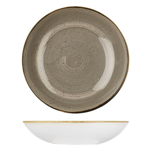 PEPPERCORN GREY ROUND COUPE BOWL