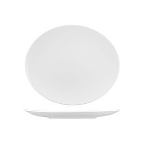 BOP30 RAK Banquet Collection Oval Coupe Plate Globe Importers Adelaide Hospitality Supplies
