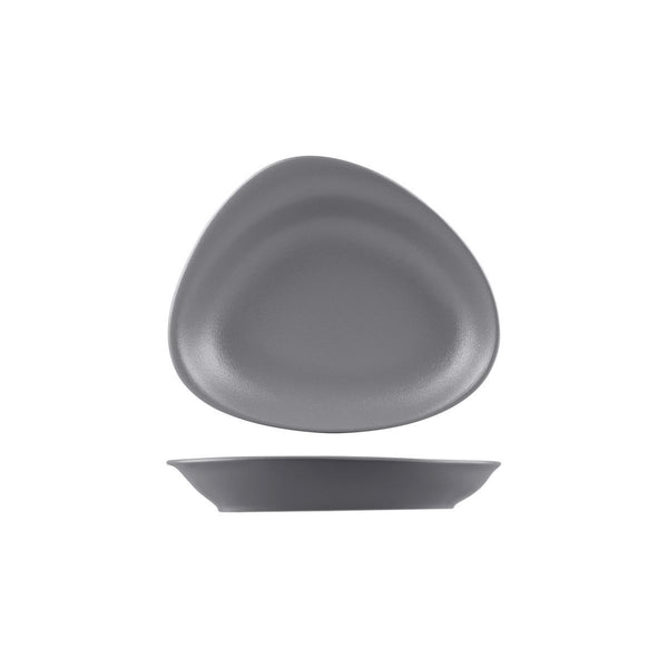 BEACHCOMBER NEOFUSION STONE DEEP OVAL PLATE