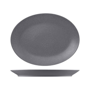 NFNNOP36GY RAK Neo Fusion Stone Oval Coupe Platter Globe Importers Adelaide Hospitality Supplies