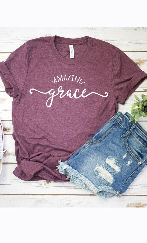Amazing Grace Graphic Tee - PLUS