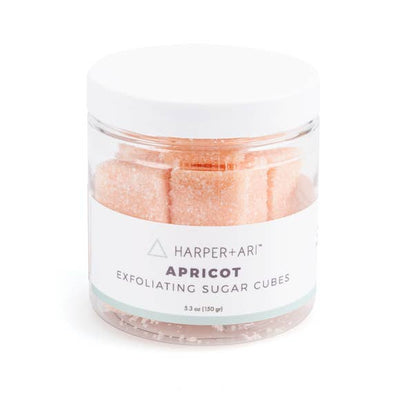 Apricot Exfoliating Sugar Cubes - Small Jar