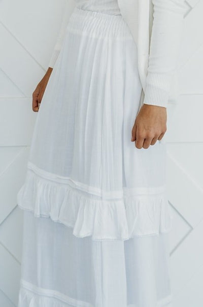 Tina Ruffled Temple Skirt
