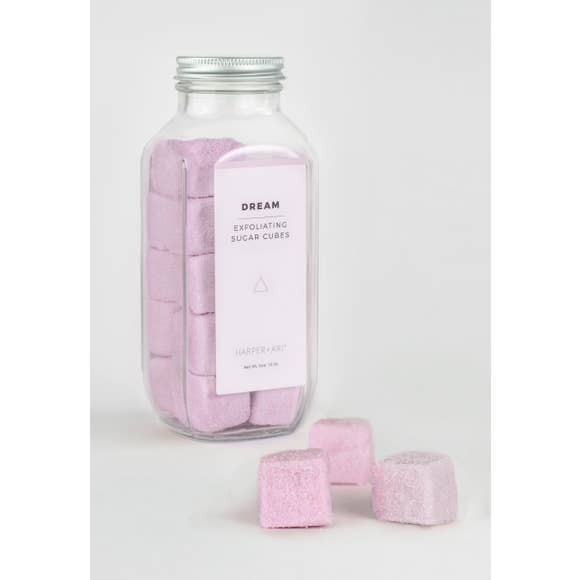 Dream Exfoliating Sugar Cubes - Bottle