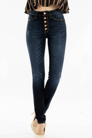 Jolene High Rise Skinny Jeans - Dark Wash