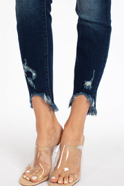 Billie High Rise Distressed Ankle Jeans