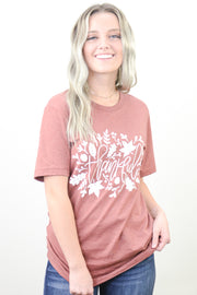 Thankful Fall Leaves Graphic Tee