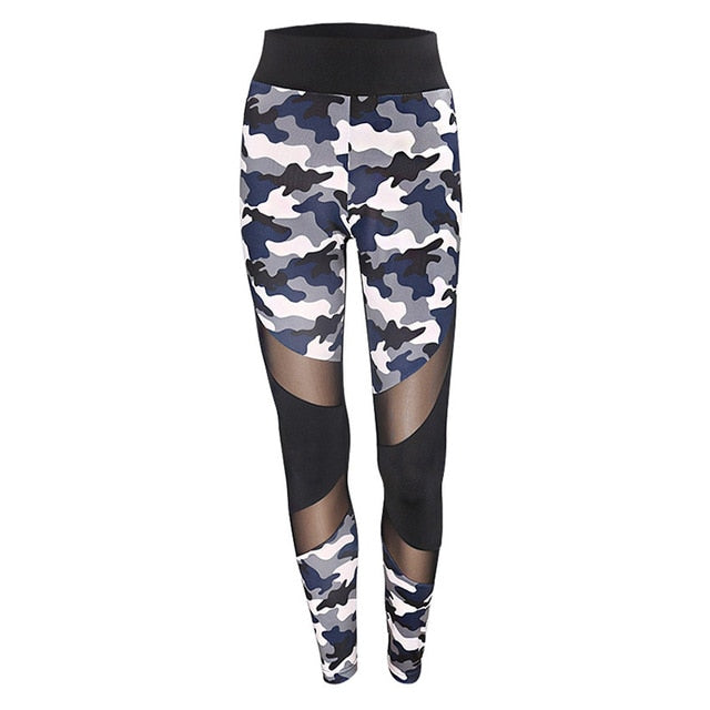 Camo Push-Up Fitness Leggings