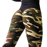 Stylish Push-Up Fitness Leggings