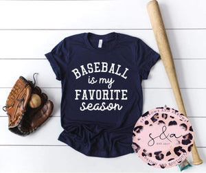Favorite Season Baseball Tee