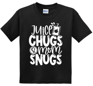 Juice Chugs and Mama Snugs Youth Tee