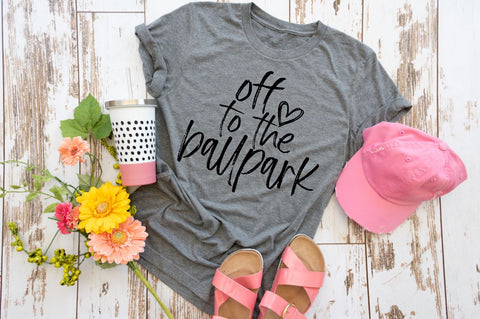 Off to the Ball Park Tee