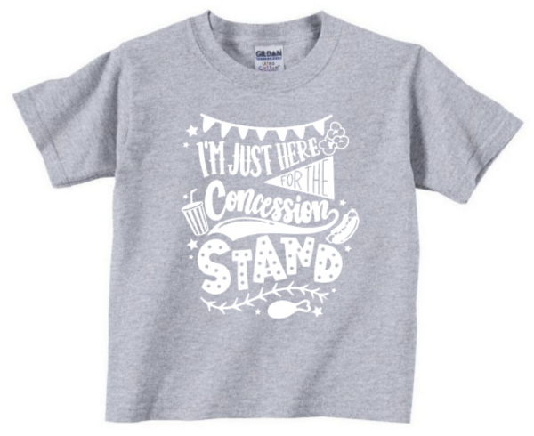 Just Here for the Concession Youth Tee