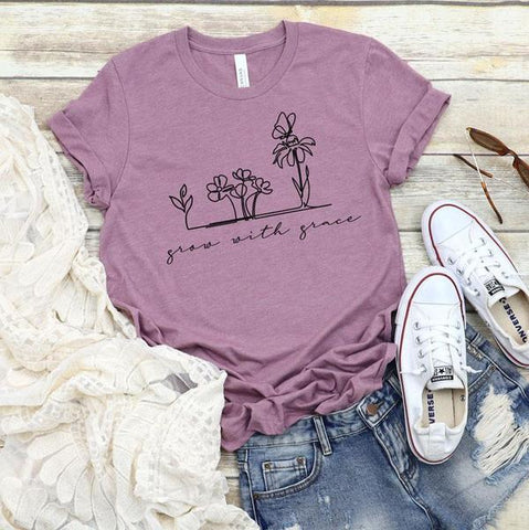 Grow With Grace Tee