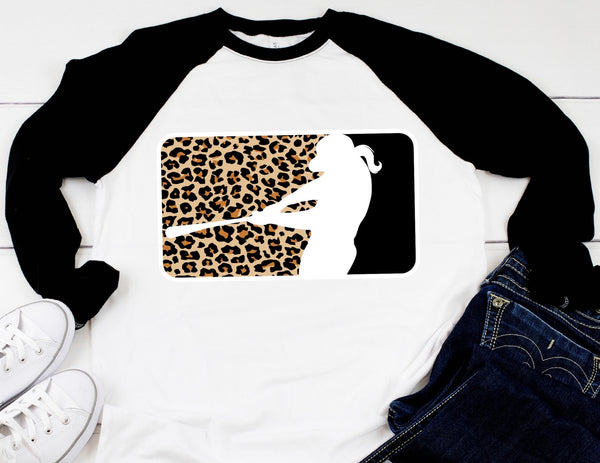 Leopard Softball Tee