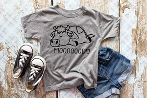 Moody Cow Youth Tee