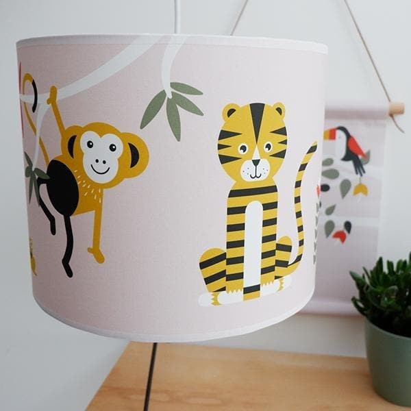 Hanglamp Jungle Oud Roze - Let us be