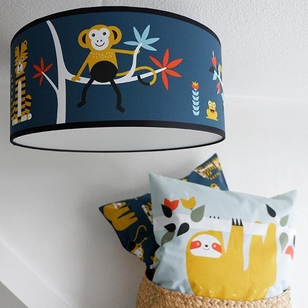 Plafondlamp Jungle Donker Blauw - Let us be