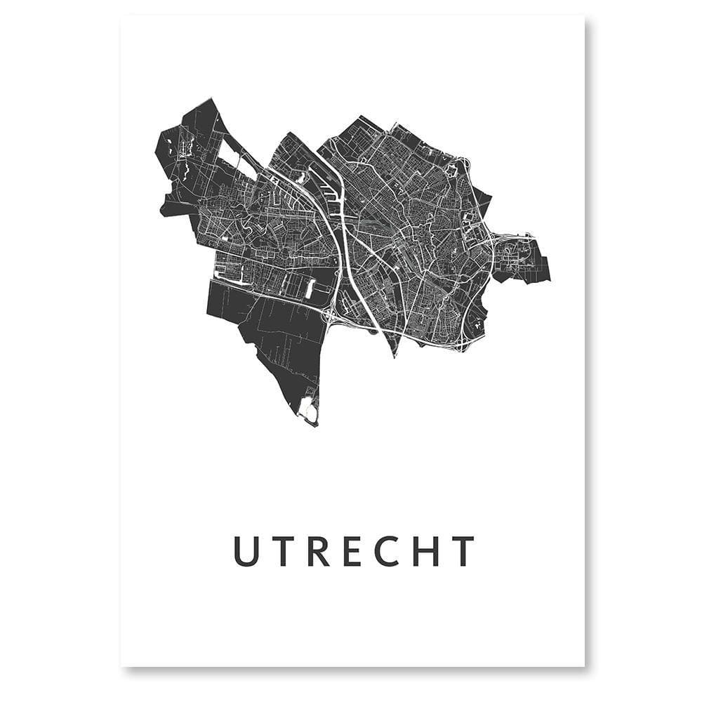 Utrecht Stadskaart - Let us be