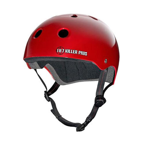 187 Pro Skate Helmet Red - Size Small