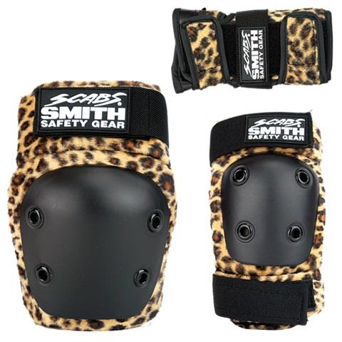 SMITH SCABS- Tripack Youth Leopard