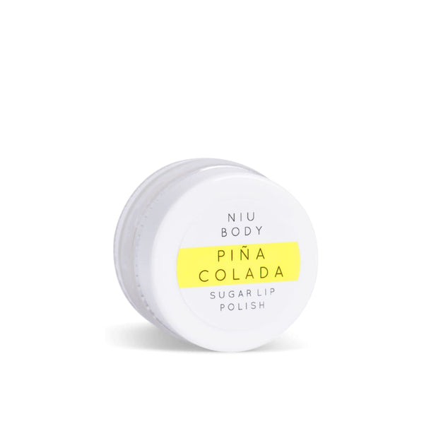 PIÑA COLADA SUGAR LIP POLISH - Artisanal Beauty Bar