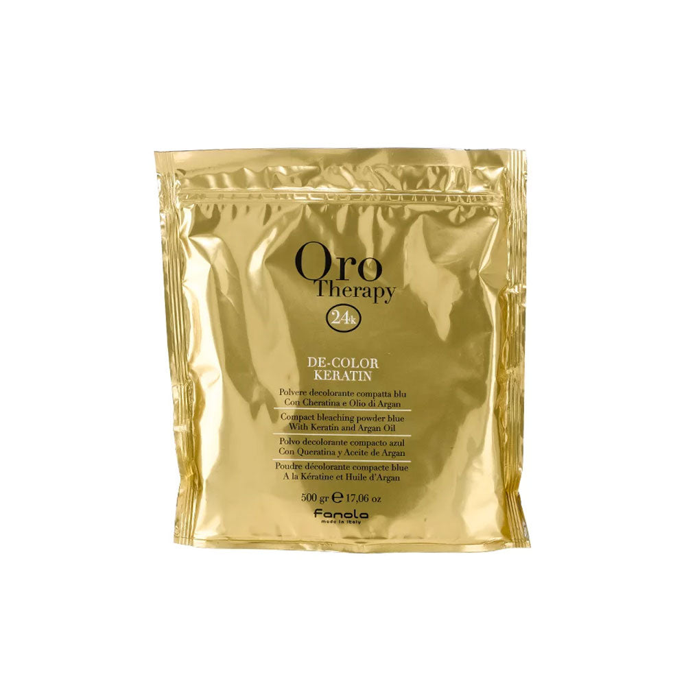 Fanola Oro Therapy Kertain Blue Bleach 500g (OUT OF STOCK)