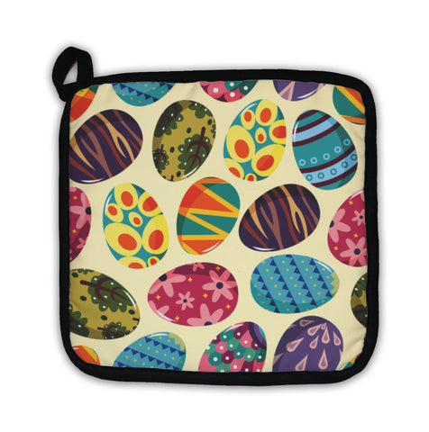 Potholder, Easter Egg Pattern