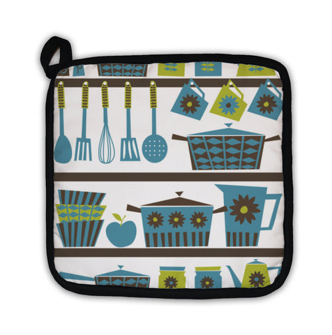 Potholder, Retro Kitchen