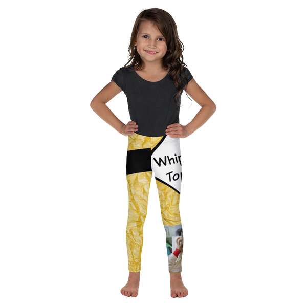 T Is For Topping-Kids' Leggings