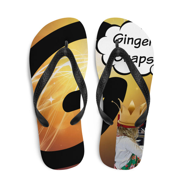 G Is For Ginger Snaps-Flip-Flops