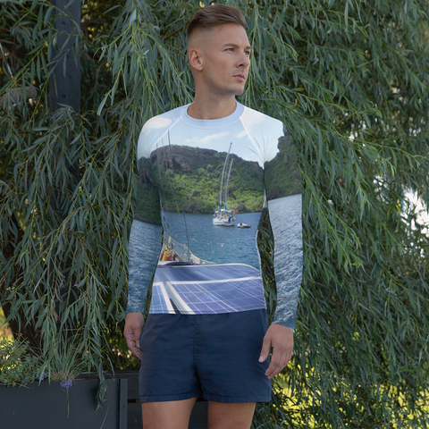 Sailboat-Men's Rash Guard
