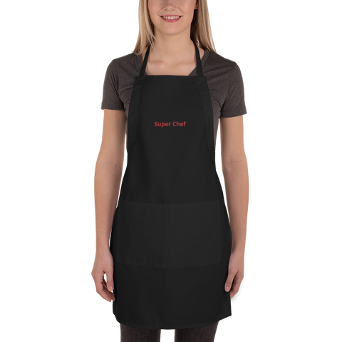 Super Chef-Embroidered Apron