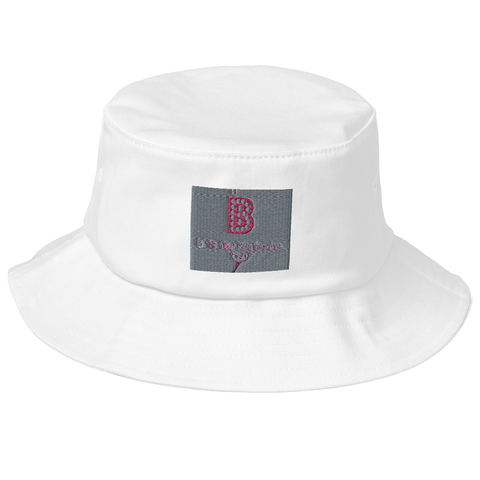 B Is For BBQ-Old School Bucket Hat