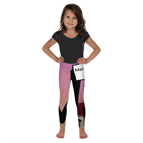 M Is For Marshmallow Fudge-Kids' Leggings