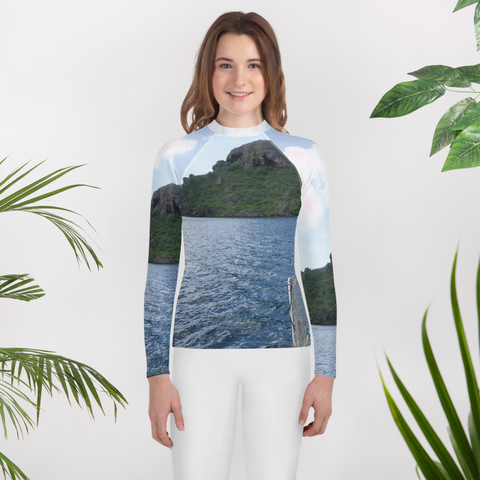 Sea Change-Youth Rash Guard