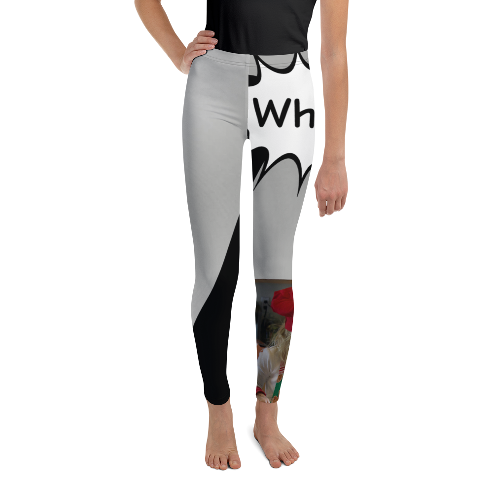 W Is For Whisk-Youth Leggings