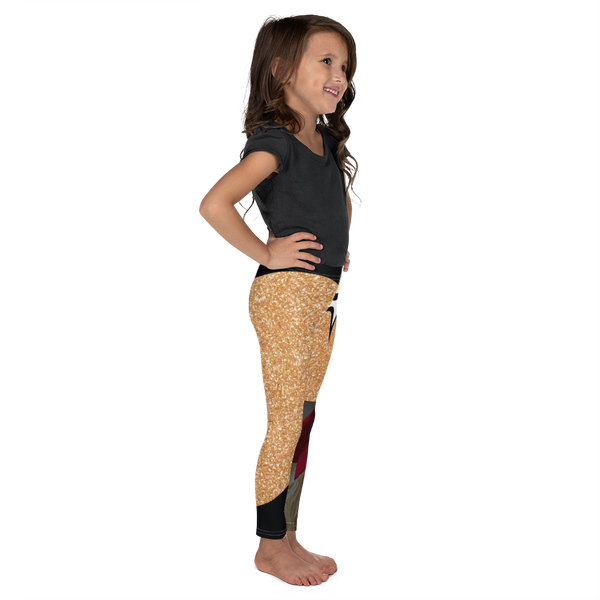 O Is For Oil-Kids' Leggings