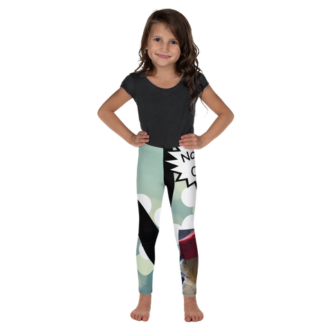 N Is For No-Bake Cookies-Kids' Leggings