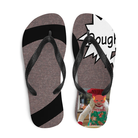 D Is For Dough-Flip-Flops
