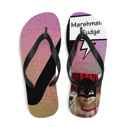 M Is For Marshmallow Fudge-Flip-Flops