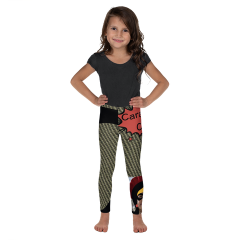 C Is For Caramel Corn-Kids' Leggings