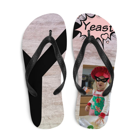 Y Is For Yeast-Flip-Flops