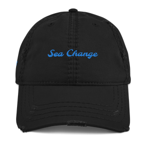 Sea Change-Distressed Dad Hat