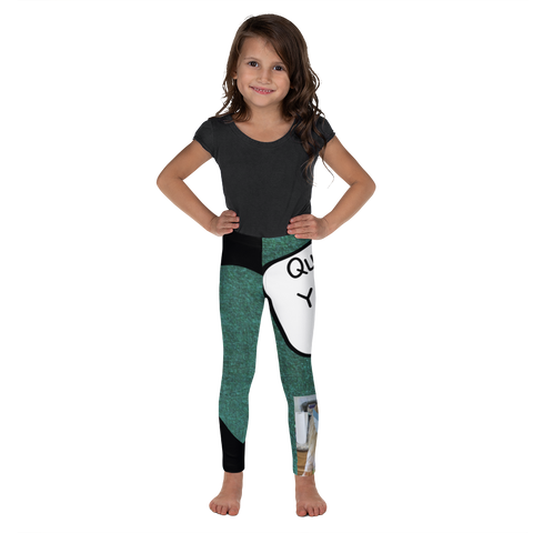 Q Is For Quick Yeast Rolls-Kids' Leggings