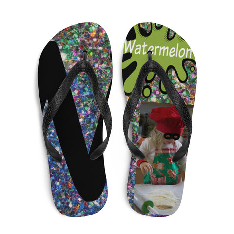 W Is For Watermelon-Flip-Flops